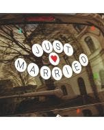 Stickers Just Married