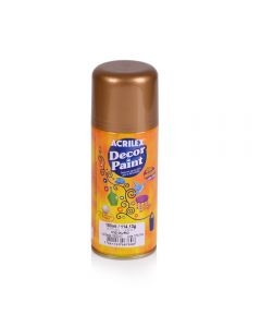 Pintura en Spray Decor Paint Oro Acrilex 150ml