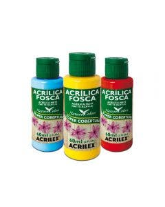 Acrilex - Pintura acrílica color mate 60 ml orquidea
