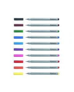 Faber-Castell Marcador Grip Finepen 0.4 mm