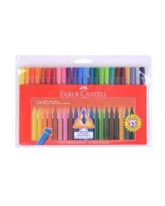 Faber-Castell Marcadores Grip - 24 Colores