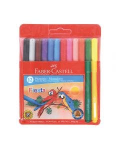 Faber-Castell Marcadores Fiesta - 12 Colores