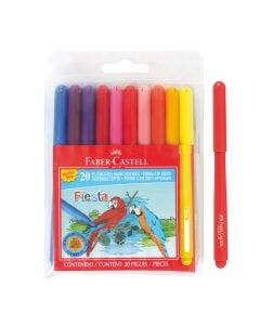 Faber-Castell Marcadores Fiesta - 20 Colores