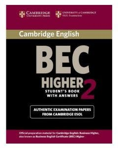 Cambridge BEC Higher 2 Practice Tests with Key