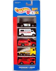 Hot Wheels Pack de 5 Autos