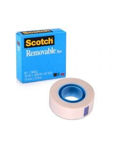 Cinta Scotch Removible 19 mm x 33 m
