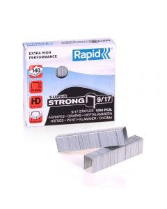 Broches Rapid Super Strong 9/17 Caja 1000 unidades