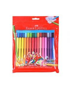 Faber-Castell Marcadores Fiesta - 30 Colores