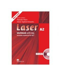Laser A2 3rd Edition Workbook With Key