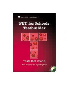 PET for Schools Testbuilder Student's Book With Key