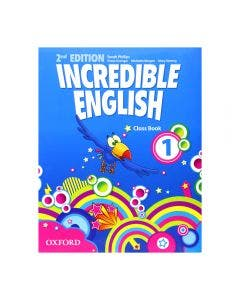 Incredible English 1 2nd Edition Class Book