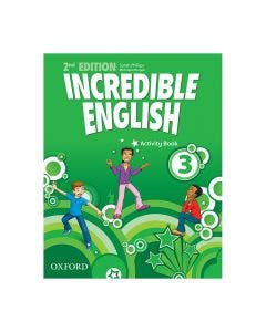 Incredible English 3 2nd Edition Activity Book