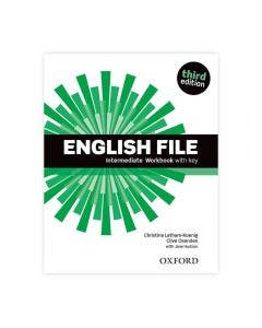 English File Intermediate 3rd Edition Workbook With Key