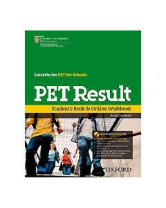 PET Result Student Book and Online Workbook