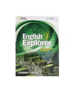 English Explorer 3 Student's Book with CD