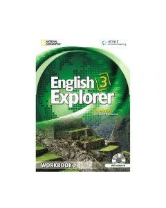 English Explorer 3 Workbook with CD
