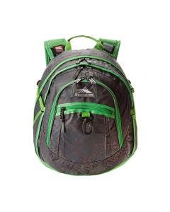 High Sierra Mochila Fat Boy Gris con Verde