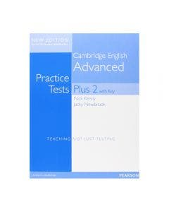 Pearson Advanced Practice Tests Plus 2 With Key