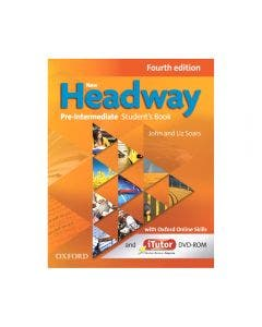 New Headway Pre Intermediate Student's Book and iTutor Pack 4th Edtion