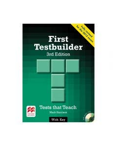 First Testbuilder 3rd Edition Student's Book With Key