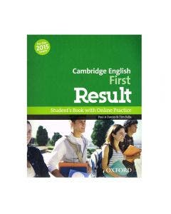 Cambridge English First Result Student's Book with Online Practice Test