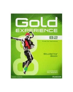 Gold Experience B2 student's book with DVD