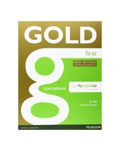Gold First 2015 Coursebook With My English Lab