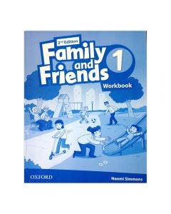Family and Friends Level 1 Workbook 2nd Edition