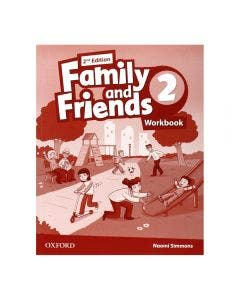Family and Friends 2 2nd Edition Workbook