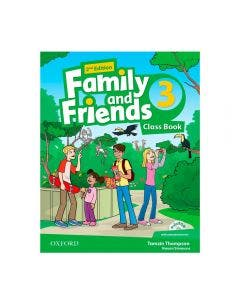 Family and Friends 3 2nd Edition Class Book