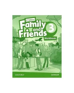Family and Friends 3 2nd Edition Workbook
