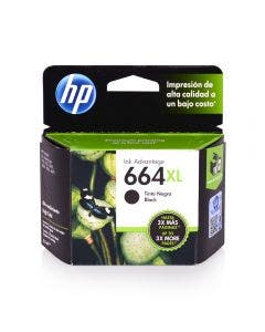 Cartucho HP (664) XL negro 480 C