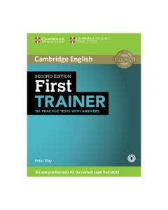 Cambridge English First Trainer Six Practice Tests with Answers 2nd Edition
