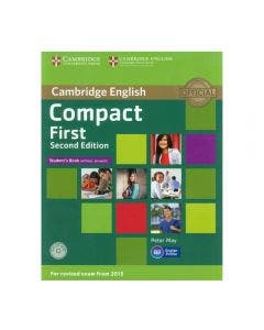 Compact First Student's Book without Key 2nd Edition