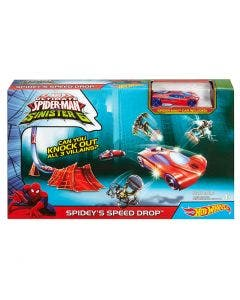 Hot Wheels Pista Básica Marvel
