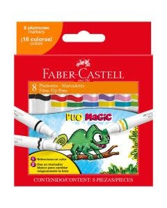 Faber-Castell Marcadores Duo Magic