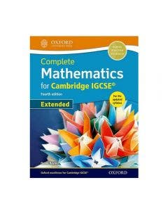 Complete Mathematics IGCSE Student's Book 4 Edition Extended