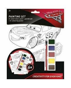 Cars 3 Set Pinturas En Blister