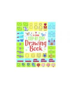 The Usborne Step By Step Drawing Book