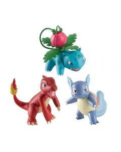 POKEMON FIGURA X3 T18524 - 97531