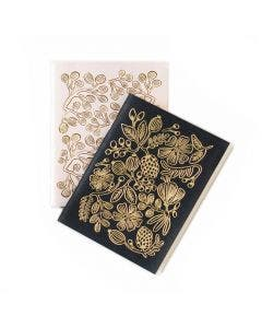 Set 2 Libretas Gold Foil Rifle Paper Co