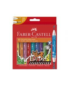 Faber-Castell Marcadores Fiesta Doble Punta