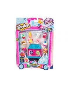 Shopkins Playset World Vacation 12 Figuras