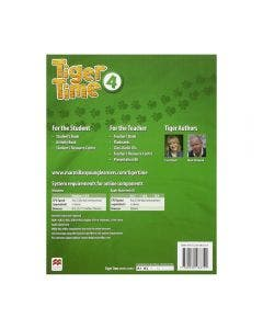 Tiger Time Activity Book Level 4