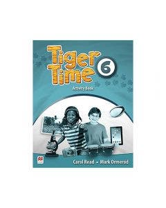 Tiger Time Activity Book Level 6