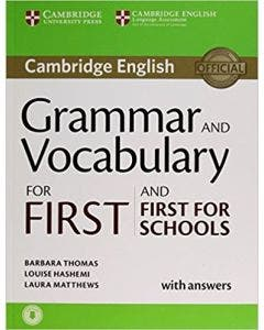 Cambridge Grammar and Vocabulary for First