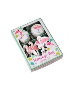 Cupcake Kit Flamingo Bay