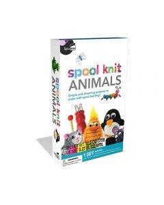 Spice Box Spool Knit Animals Kit