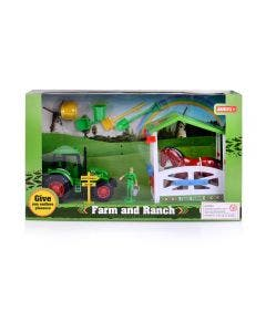 Playset Granja con Tractor
