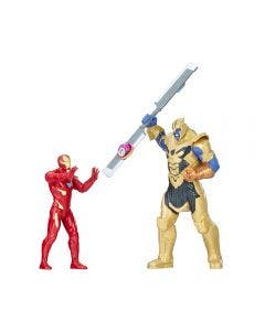Marvel Infinity War Batalla Iron Man vs Thanos